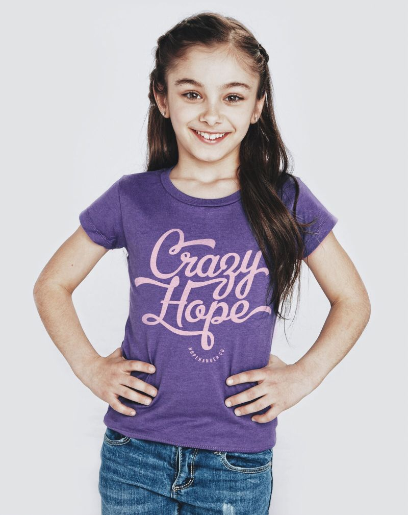 Crazy Hope<br>Girls Tee